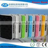 2015 Hot selling bag style power bank slim credit card power bank best price power bank CE FCC ROHS