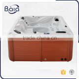 Luxury outdoor 5 people spa outdoor bathtub wood