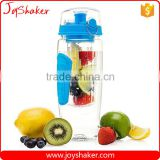 JoyShaker Infuser Water Bottle - Large 32 oz. Fruit Infusion & Detox Bottle - Multiple Colors