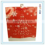 Alibaba china Custom printed red christmas tree Paper Bag Printing with Best Price and gift paper bag