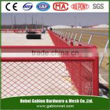 PVC Coated Chain Link Fence/Electro Galvanized Chain Link Fencing/Hot Dipped Galvanized Chain Link Wire Mesh