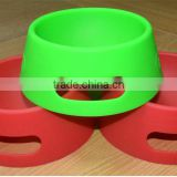 100% food grade silicone pet bowl for dog                                                                         Quality Choice