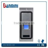 Fingerprint Access Control,All-mental Waterproof RFID Access Control,standard 125K HZ RFID card module and optional modul