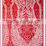 corded design of french lace / chantilly lace / france lace