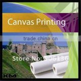 Waterproof poly and cotton blend printing canvas for oil painting horse