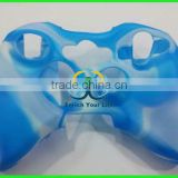 For XBOX 360 wireless controller shell color silicon sleeve case