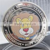 Russian Custom Metal Coin / Animals Cheap Custom Coins / Taekwondo Championships Souvenir Coin