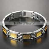 Super quality latest magnetic chain beads bracelet