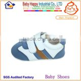 soft sole sport Leather baby shoes for boy