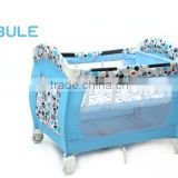High Quality Cot Baby Bed With CradleF309                                                                         Quality Choice
