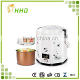 Microwave 1.5l 2.5L electric rice cooker with steamer and power cord mini rice cooker 110v