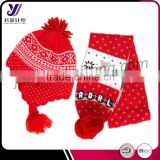 Great quality colorful children baby gloves hat and scarf sets factory sales (can be customized)