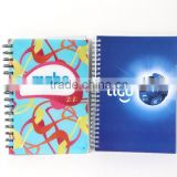 spiral PP cover advertising office bussiness PVC cover soft cover high quality stationery wenzhou cangnan notebooks