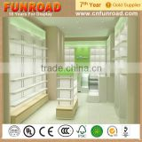 cellphone jewelry store booth wood glass pharmacy cabinet furniture display showcase shelve kiosk supplier manufacturer for sale