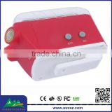 2015 hot sell novelty design 3 led red light and 3 led blue light safety laser tail led bicycle light