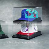 handmade fien craft clear acrylic baseball hat display case shenzhen factory