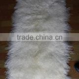 Tibet Long Curly Lamb Fur Skin / Sheepskin Plate                                                                         Quality Choice