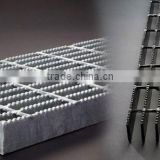 Heavy duty steel flat bar grating