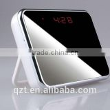 Table Mirror Clock V7 Alarm Clock Camera Hidden Camera Motion Detection MINI DVR Thermometer Display Record