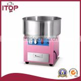 itop commercial Electric automatic flower cotton candy machine price for sale