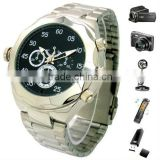 30 FPS Waterproof Watch Security Surveillance hidden Camera Video Recorder with TF card slot