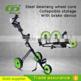 2016 New 3 Wheel Aluminium Alloy Single Golf Trolley