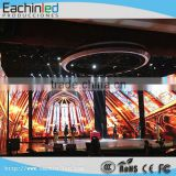 Ultra Slim Electronic Rental LED Signs Screen Indoor Video Wall in Cast Aluminum Cabinet