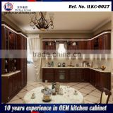 Modern high gloss kitchen cabinet laminated kitchen cabinet cherry solid wood kitchen cabinet