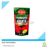 Food Plastic Bag For Packing Tomato Paste