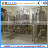 1000l beer brewery equipment semi automatic beer brewing system steam heating boiling tank
