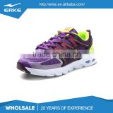 ERKE wholesale dropshiping brand fashion performance TPU mesh sport womens running shoes