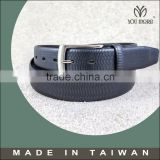[Taiwan YM] 2016 classic casual black leather belts for trousers