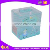 Hot selling high quality Clear PVC plastic folding box, cosemtic packaging for soap packaging box