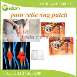 Hemp seed oil pain relief patch
