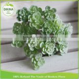 Art Home Office Decor wedding Floral Arrangement flowers succulents artificial creeper for plant wall
