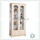White color wooden kitchen cabinet HB-H0901# kitchen cabinet solid wood kitchen corner cabinet