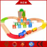 children wooden vehicle set, wooden railway set with new item
