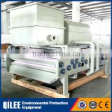 biological wastewater treatment plant stainless steel belt filter press