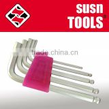 5PC Ball Head Hex Key/Allen Key Wrench Set