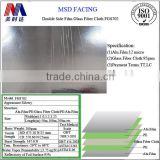 Double Side Insulation Aluminum Film Fireproof Fiberglass Cloth