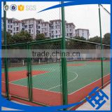 Supplier plastic coated iron wire used for fencing cheap chain link fence