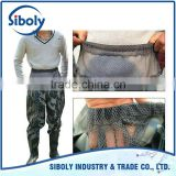 wholesale new products on china market 2016 pvc waist high wader