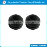 high quality rubber waterproof plug rubber end cap with hole