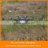 Every Spraying Nozzle Under Propeller, Most Spraying Efficiency Crop Spraying Drones Agricultural UAV