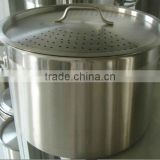 100L Stainless Steel Pot With Induction bottom