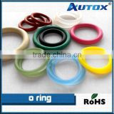 Coloreful various rubber o rings,silicone o ring,viton.PTFE o ring