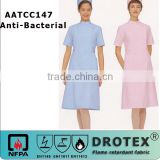 100% cotton anti-bacterial 99% rate OEM Hospital anti-bacterial nurse uniform 170gsm