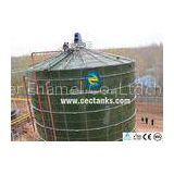 Customized Glass Lined Steel Sludge Storage Tank / Sludge Anaerobic Digestion