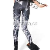Free shipmentSupernova Sale HOT! Womens RESURRECTION BLACK LEGGINGS Galaxy Milk Digital Print Elasticity Pants drop Shipping