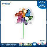 Most popular custom lovely plastic garden windmills for kids